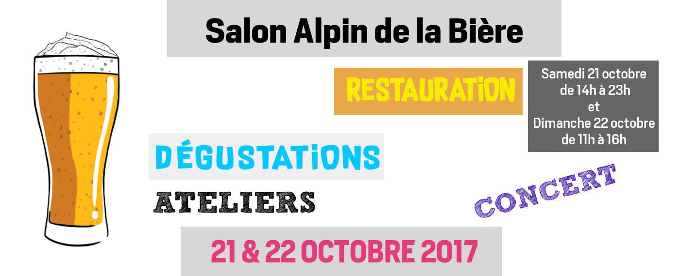 Salon de la bière à Chambéry les 21 & 22 octobre 2017