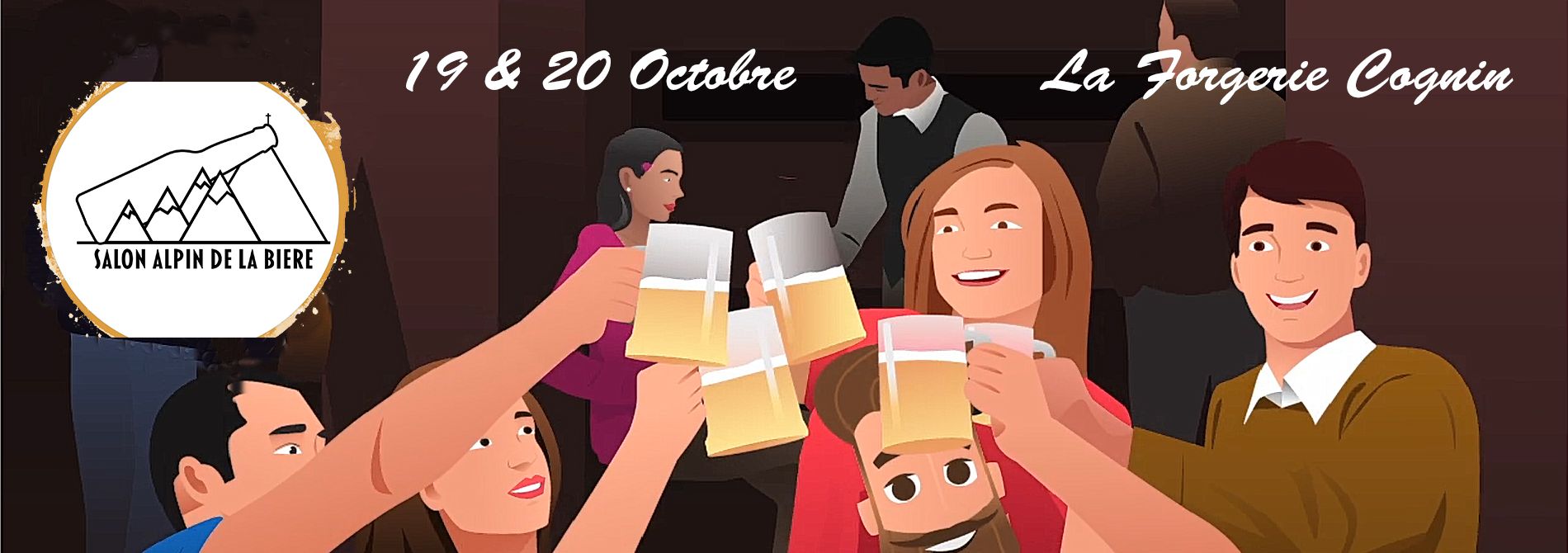 Pour les 200 premières pré-vente : 1 verre gratuit de la bière élue reine du salon 2018 « la FURAX » – Brasserie La Furieuse !